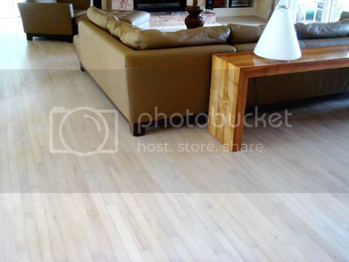 wood flooring with monocoat
