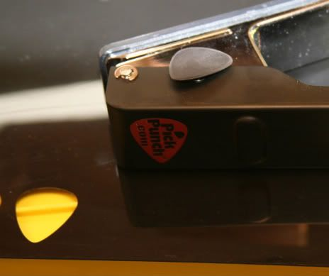 pick punch,make your own guitar picks,acetal sheeting,pickpunch,guitar picks,homemade,diy,black,acetal,sheet,for sale